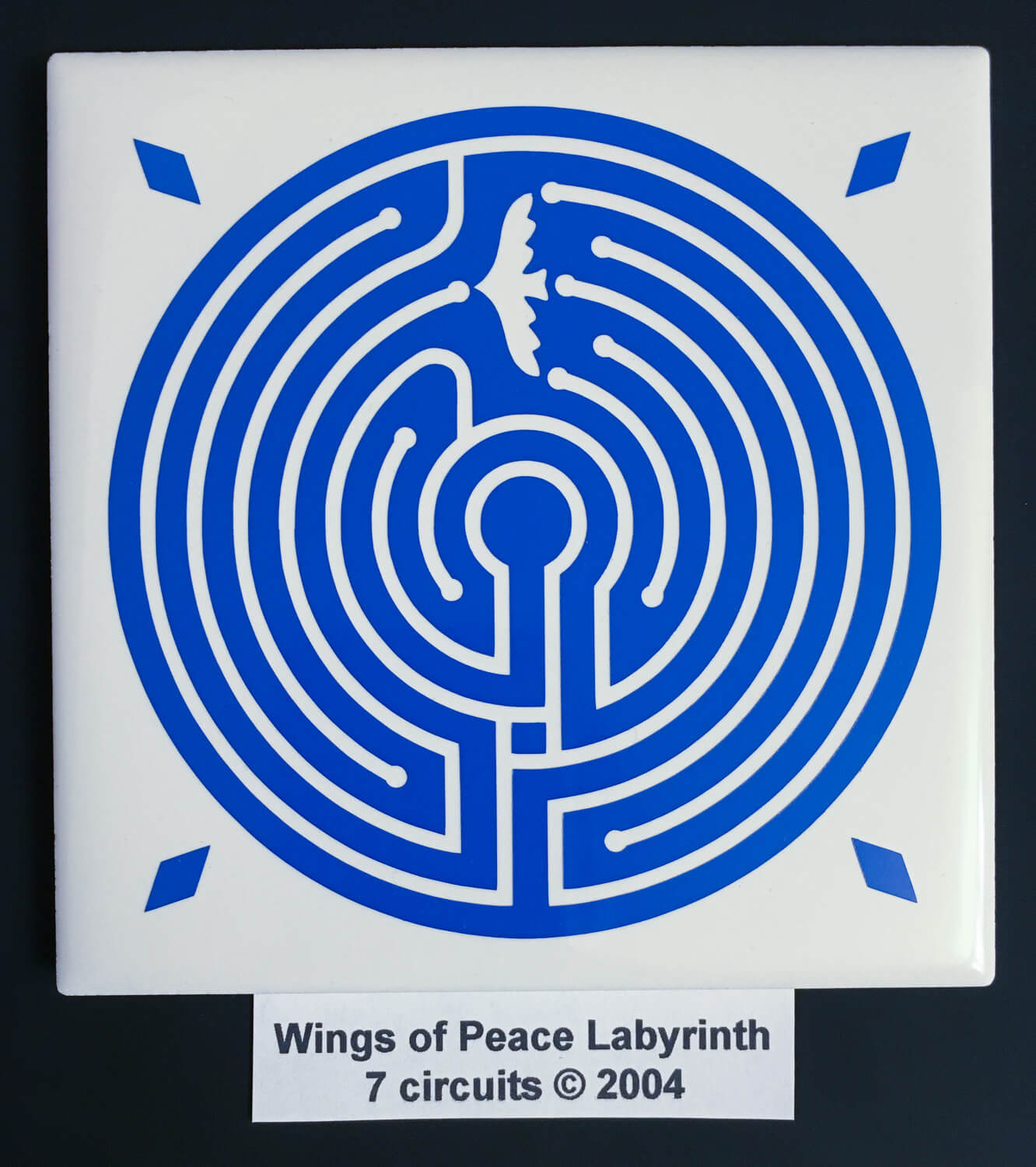 Wings Of Peace Labyrinth Harmony Labyrinths